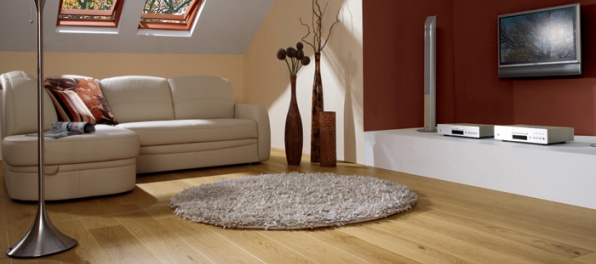 Podlaha je srdcom celého interiéru
