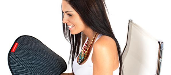 Dynamické podložky na stoličku zaistia vaše zdravé sedenie