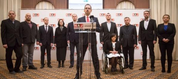 Vzniká strana NAJ, chce poraziť oligarchov a vyhrať voľby
