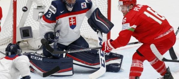Slováci utrpeli na turnaji v Bieli od Bielorusov debakel