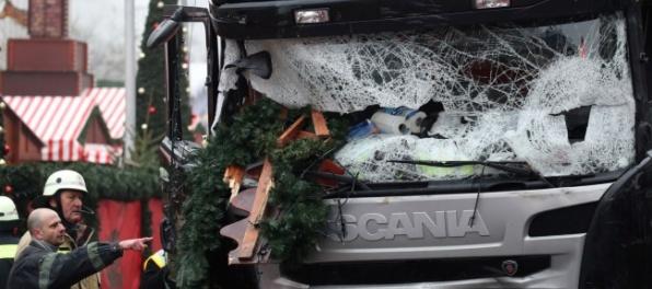 Vodič kamióna sa snažil zabrániť útoku na trhoch v Berlíne