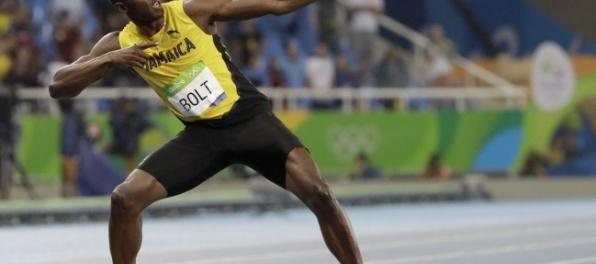 Usain Bolt v rámci stávky v Riu hodil oštepom 54 metrov