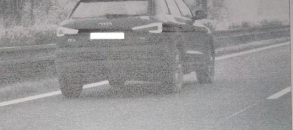 Cestný pirát na Audi sa po D2 rútil rýchlosťou 192 km/h