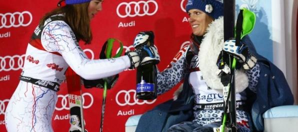 Médiá: Shiffrinová prišla o rekord, vládli Vlhová a Zuzulová