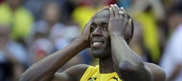 Usain Bolt sa musí rozlúčiť so zlatou medailou z OH 2008
