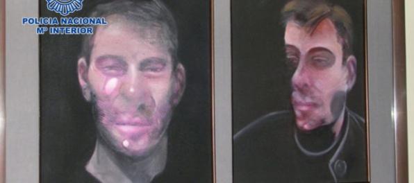 Polícia našla tri odcudzené obrazy Francisa Bacona v hodnote 25 miliónov eur