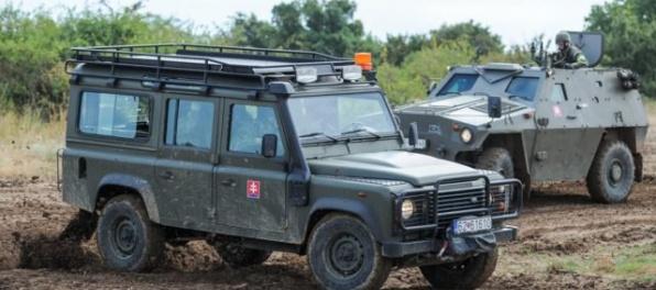 Ministerstvo obrany upozorňuje na 43 cestných presunov vojenskej techniky cez Slovensko