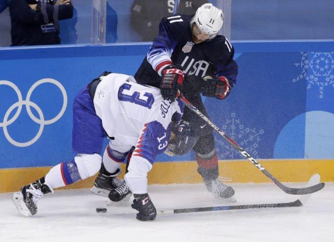 7a31c41f772fe ZOH 2018 v Pjongčangu (online hokej – zápas o postup do štvrťfinále):  Slovensko – USA