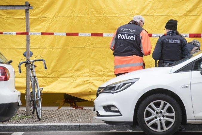 Streľbu pred bankou v Zürichu neprežili dvaja ľudia, polícia má situáciu pod kontrolou