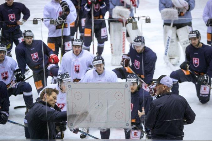 Slovenskí hokejisti poznajú termín oficiálnej prípravy na MS v Dánsku, Šatan im pripravil kemp