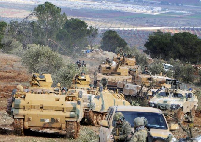 Pri tureckých náletoch v Afríne zahynulo najmenej osem sýrskych vojakov