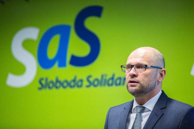 Odkaz Sviečkovej manifestácie je podľa SaS veľmi aktuálny, keď občania žiadajú slušné Slovensko