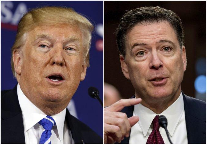 Trump podľa poznámok exšéfa FBI uvažoval o väznení novinárov a Putin mu hovoril o prostitútkach