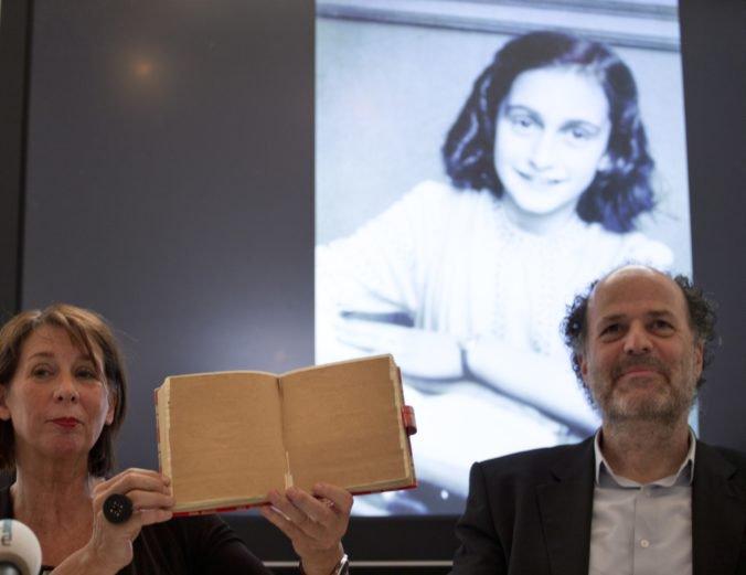 Holanďania rozlúštili tajné stránky z Denníku Anny Frankovej, píše o menštruácii či prostitúkach