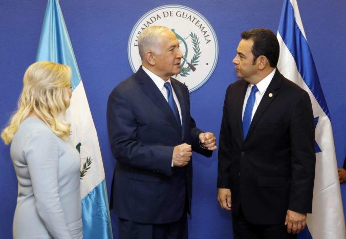 Guatemala nasledovala kroky USA a otvorila svoje veľvyslanectvo v Jeruzaleme