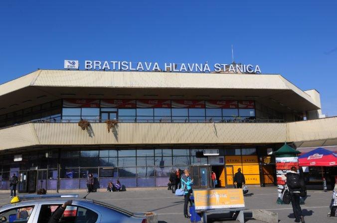 Na Hlavnej stanici v Bratislave našli mŕtveho 56-ročného muža