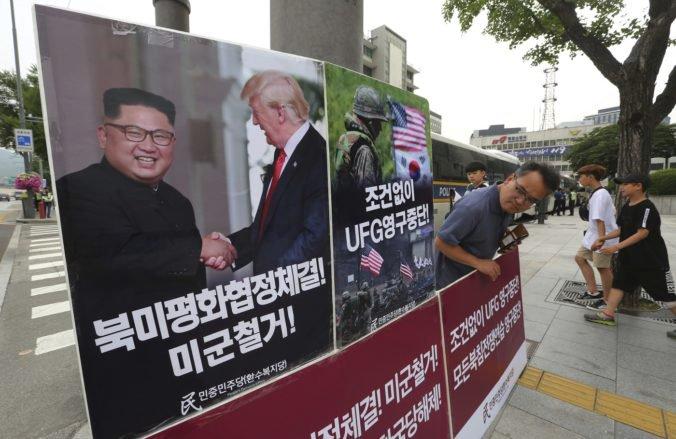 Trump formálne pozastavil letné vojenské cvičenia s Južnou Kóreou, označil ich ako provokáciu