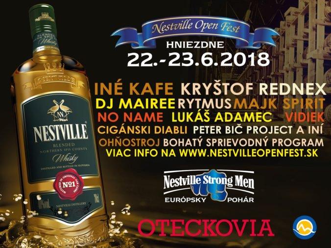 Nestville Open Fest prináša na Horný Spiš výnimočnú multižánrovú zábavu