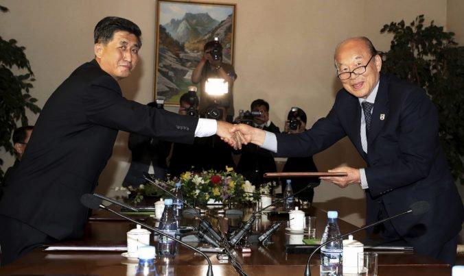 Stretnutia rozdelených rodín sa uskutočnia, zástupcovia Severnej a Južnej Kórey sa dohodli