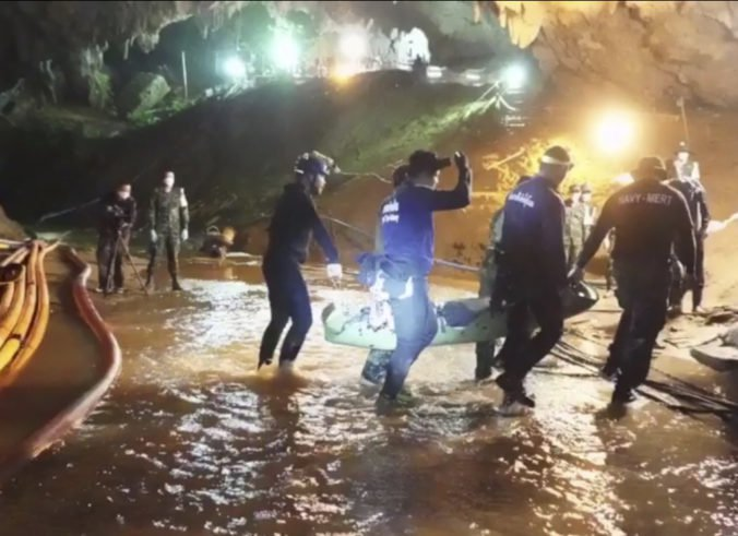 Foto: Prvé zábery z nemocnice o zachránených chlapcoch z jaskyne v Thajsku