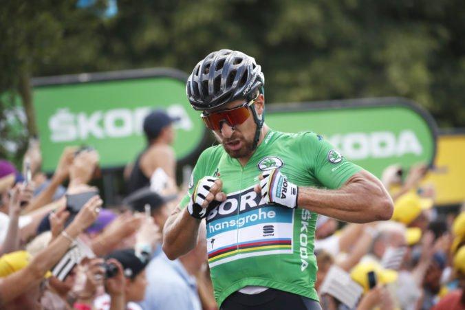 To je Peter, vyhral by hádam aj poslepiačky, chváli Sagana športový riaditeľ tímu Bora-Hansgrohe