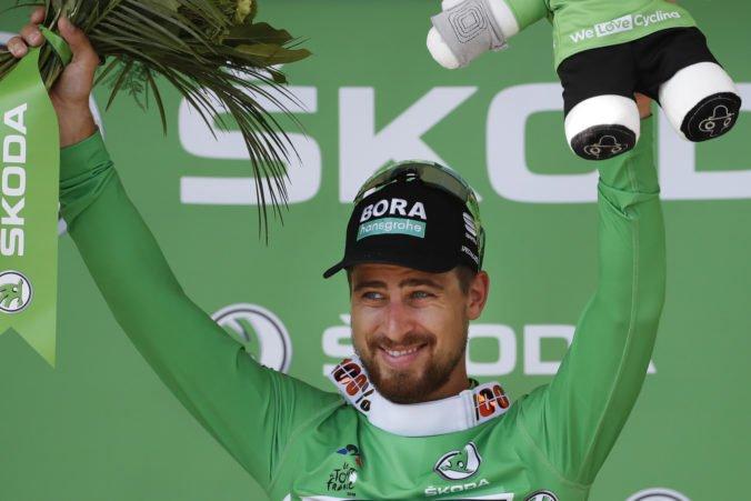 Fotografie (10. etapa Tour de France 2018): Peter Sagan zvýšil svoje vedenie v súboji o zelený dres na 101 bodov