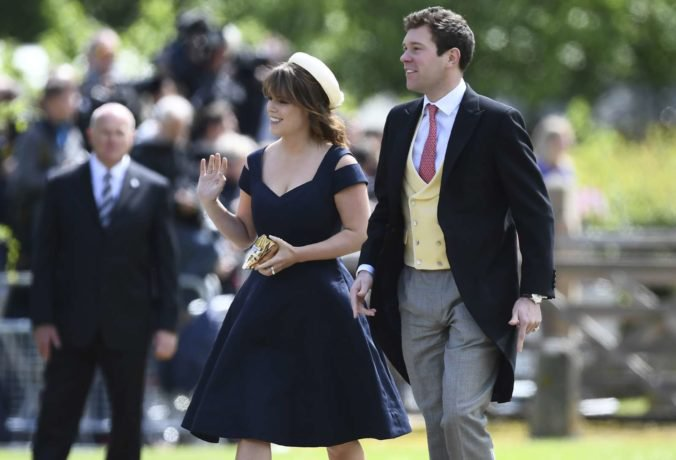 Princezná Eugenie a Jack Brooksbank pozvali na svadbu viac ako tisíc zástupcov širokej verejnosti