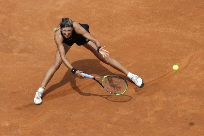 Tenistka Viktoria Azarenková nemá zatiaľ istotu priamej účasti na US Open