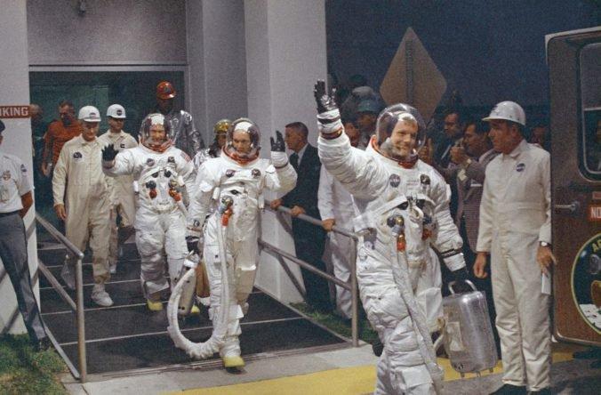 Svet si pripomína 50. výročie od prvého pristátia ľudí na mesiaci, oslavy v USA potrvajú rok