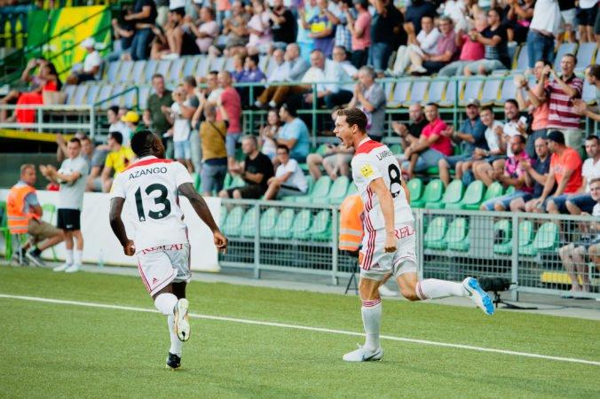 Foto: AS Trenčín šokoval slávny Feyenoord, ale Šemrinec s Monizom pred odvetou krotia optimizmus