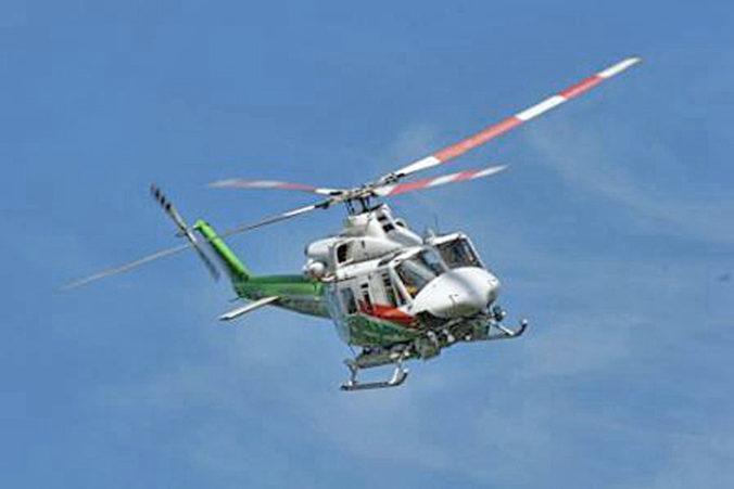 V japonských horách sa zrútil záchranný vrtuľník, na palube boli deviati členovia posádky