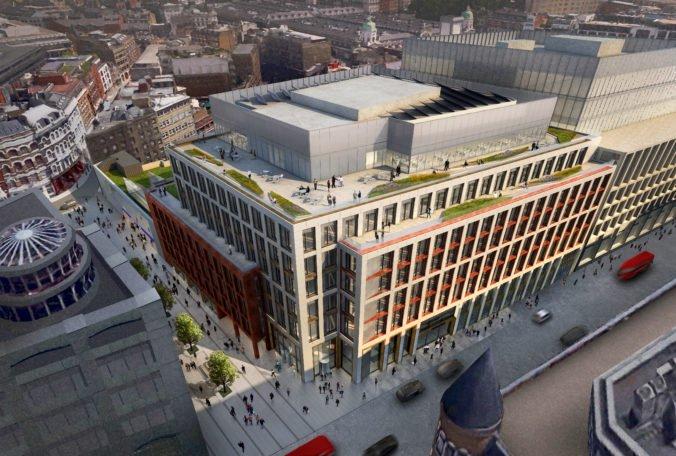 HB Reavis rozširuje svoje portfólio v Londýne už o piaty projekt. Spoločnosť nadobudla priestory pri stanici Farringdon West, kde postaví kancelársku budovu nad železničnou traťou Crossrail.