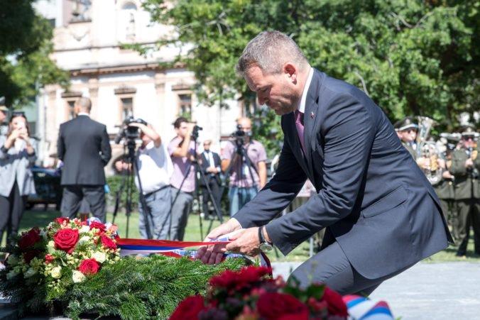 Foto: SNP bolo zásadným prejavom rozhodnosti a vôle slovenského národa, vyhlásil Pellegrini