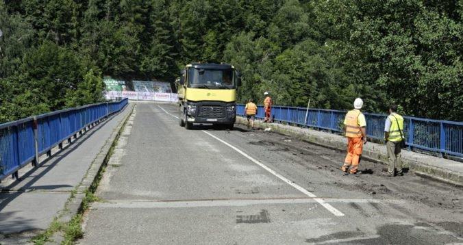 Most v Poprade po rekonštrukcii ocenia aj chodci, už je odovzdaný do užívania