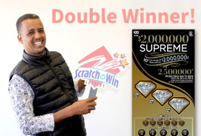 Africký migrant vyhral dva razy v lotérii, je z neho milionár