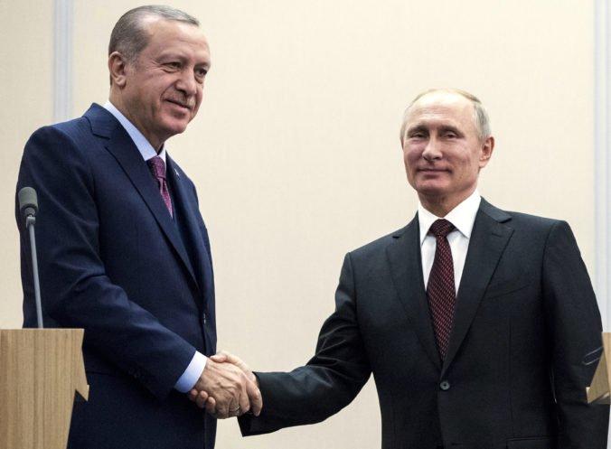 Turecký prezident Erdogan sa stretne s Putinom, témou bude situácia v sýrskom Idlibe
