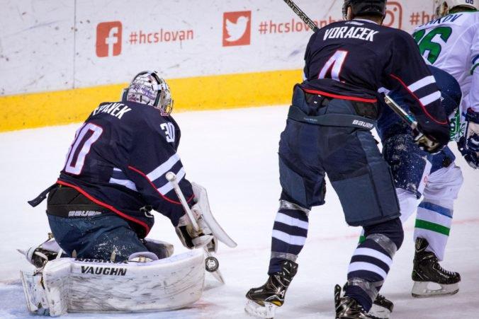 a653d93f14a1c HC Slovan Bratislava strelil v Podoľsku štyri góly, ale nezískal ani bod