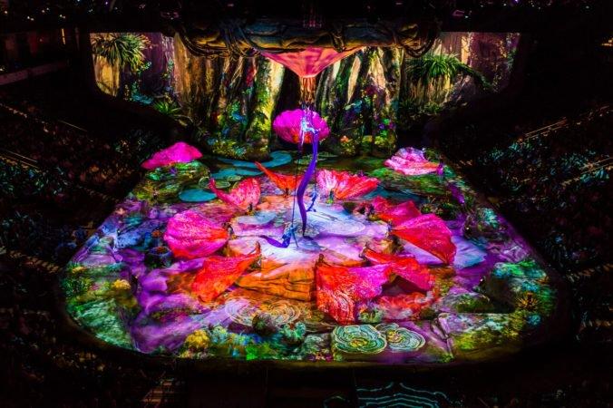 Na Slovensko mieri Cirque du Soleil so šou inšpirovanou filmom Avatar