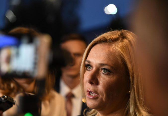 Návštevy ministerky Sakovej v Nemecku bola len zdvorilostná a bez výsledkov, kritizujú liberáli