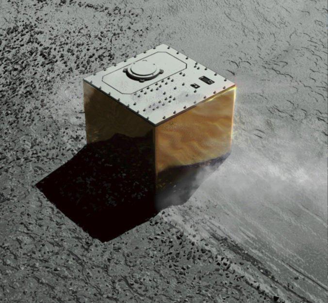 Na asteroide Ryugu úspešne pristál MASCOT, bude merať teplotu a skúmať minerály