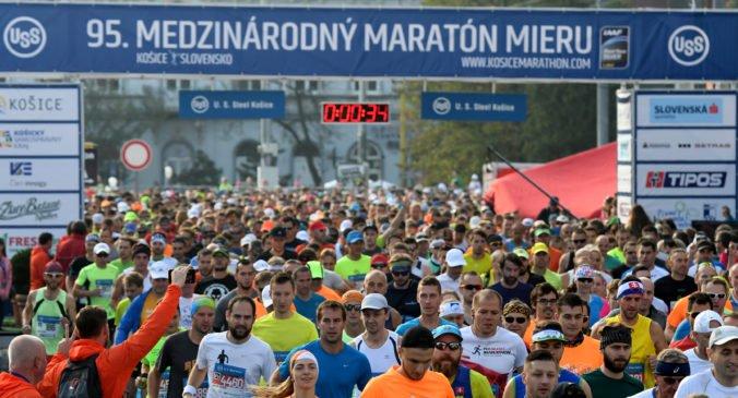 Foto: Košický maratón mieru vyhrali Keňania, Sahajda ukázal parádny výkon a Tóth si pripomenul výročie