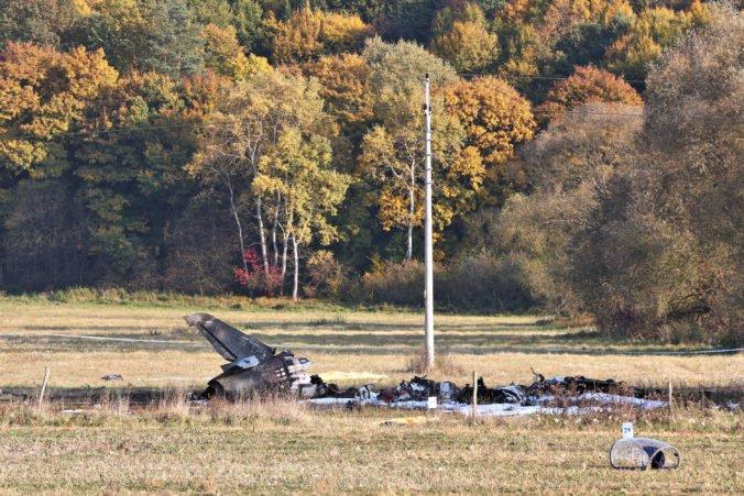 Pád lietadla L-39 pri Sliači vyšetruje polícia a začala trestné stíhanie