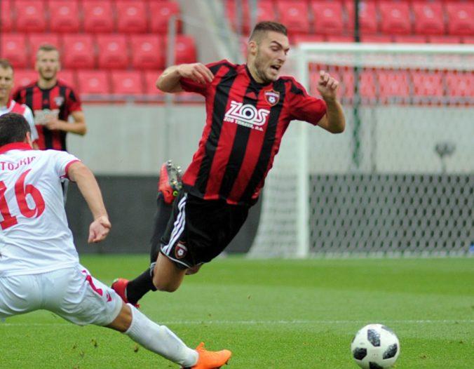 Spartak postúpil do pohárového osemfinále Slovnaft Cupu, Dangubič nastrieľal Bardejovu tri góly