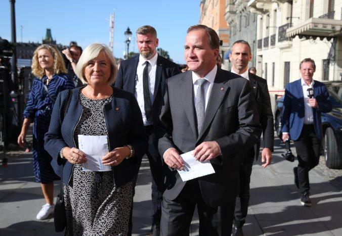 Löfven dostal poverenie na zostavenie vlády, na rokovania má dva týždne