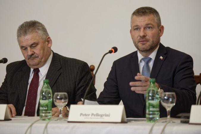 Rožňavský okres opäť dostane viac ako milión eur, Pellegrini zdôrazňuje aj nižšiu nezamestnanosť