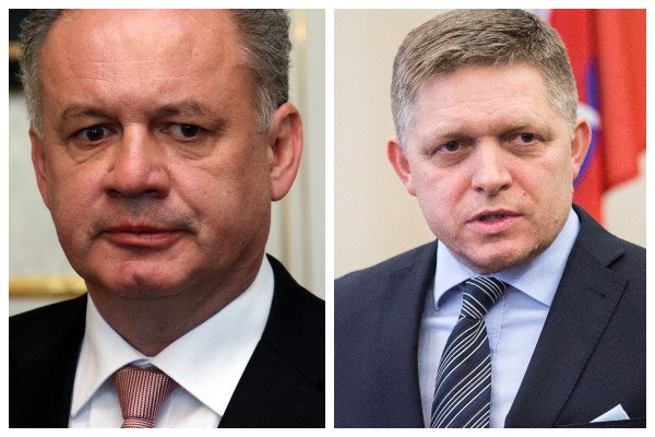 Kiska klamstvami poškodzuje Slovensko, vyhlásil Fico. Dokument SIS podľa Kaliňáka neexistuje