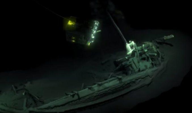 Video: Pri pobreží Bulharska objavili údajne najstarší neporušený vrak lode