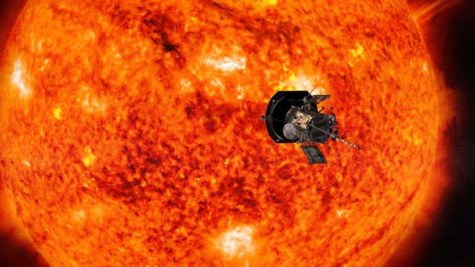 Sonda Parker preletela cez slnečnú atmosféru, môže objasniť niektoré zo záhad hviezdy