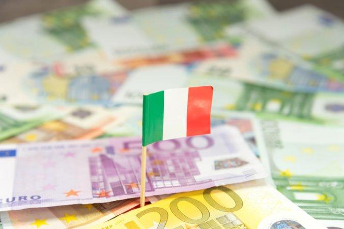 Taliansko bude mať podľa Bruselu najpomalšie rastúcu ekonomiku eurozóny, môže za to návrh rozpočtu