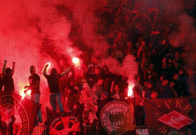 UEFA prešetrí fanúšikov ruského klubu CSKA Moskva pre správanie na štadióne